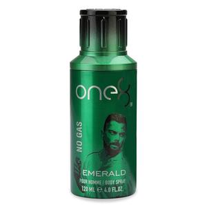 One8 Body Spray Emerlad No Gas 120ml