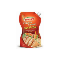 Youngs Chicken Spread Bbq Squeeze 200ml