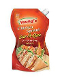 Youngs Chicken Spread Bbq Squeeze 500ml