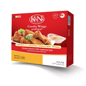 K&N's Chicken Wings Combo 560g