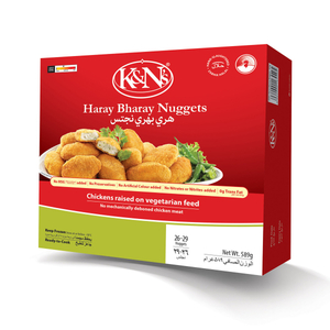 K&N's Chicken Haray Bharay Nuggets 589g