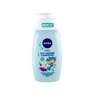 Nivea Kids 2 N 1 Shower & Shampoo Apple 500ml
