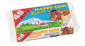 Happy Cow Slice Cheese 800g