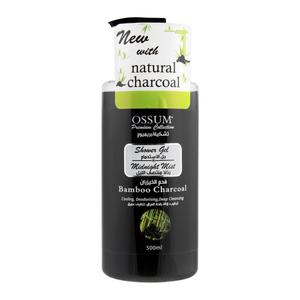 Ossum Shower Gel Bamboo Charcoal 500ml