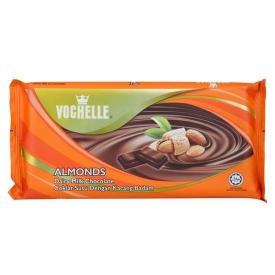 Vochelle Almond Block Chocolate 40g