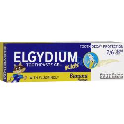 Elgydium Toothpaste Gel Kids Banana 50ml
