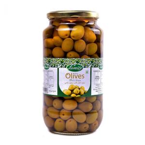 Family Green Olives 575g