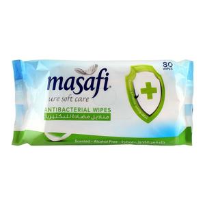 Masafi Anti-Bacterial Wipes 2x80s