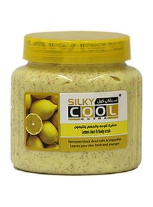 Silky Cool Lemon Face & Body Scrub 500ml