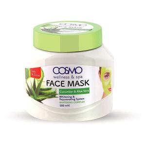 Cosmo Face Mask Cucumber & Aloe Vera 625g