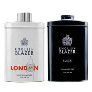 English Blazer Talcum 2x150g