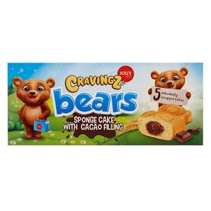 Cravingz Bear Sponge Cake 5x225g