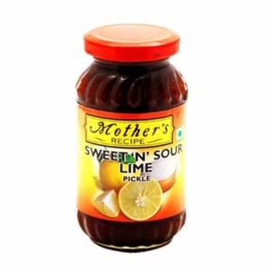 Mother's Recipe Sweet N Sour Lime Pickle 350g