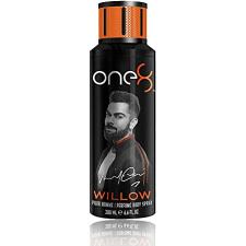 One8 Willow & Actice Body Spray 2x200ml