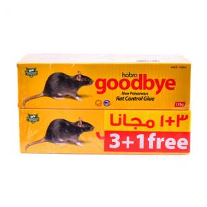 Goodbye Rat Control Glue 4x135g