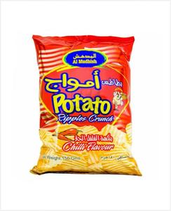 Al Mudhish Potato Crunch Ripple 25x15g