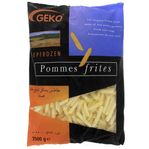 Geko French Fries 2.5kg