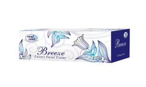 Cool & Cool Breeze Facial Tissues 5x150s