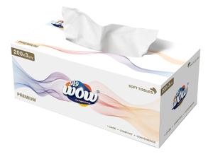 Wow Permium Tissue Box 200s
