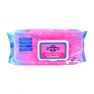 Natures Cotton Soft Sports Wipes 40s