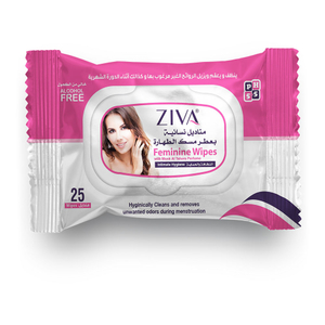 Ziva Woman Make Up Removal Wipes 25s
