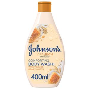 Johnson's Vita Rich Body Wash Yogurt 400ml+250ml