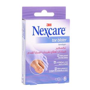 Nexcare Toe Blister Bandages Tbb-6 3M 1pc