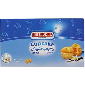Americana Cup Cake Vanilla 2x55g