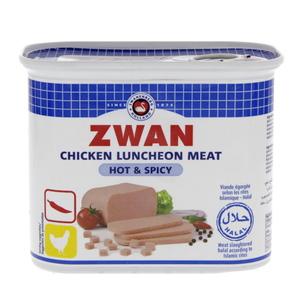 Zwan Luncheon Meat Chicken Hot & Spicy 2x200g