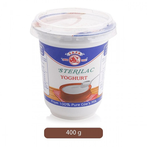 Sterilac Yoghurt Cup 400g