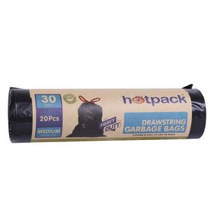 Hotpack Drawstring Garbage Bag Roll 60X90cm 1pack
