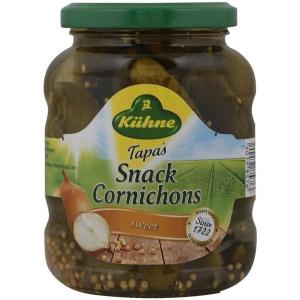 Kuhne Tapas Snack Cornichon 2x330g