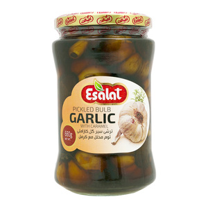 Esalat Peeled Bulb Garlic Pickle 680g