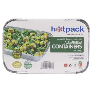 Hotpack Aluminium Container 680cc 1pack