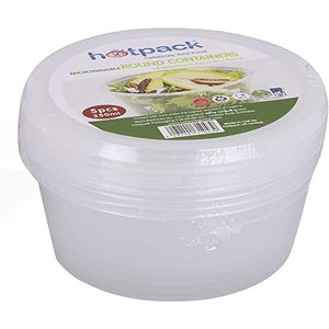 Hotpack Microwave Round Container 1pack