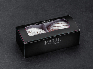 Chocolate Hazelnut Doughnut 2pcs