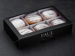 Doughnut Assorted (Raspberry/Apple Cinnamon/Chocolate Hazelnut- 6 Pieces) 3(flavours)x2pcs