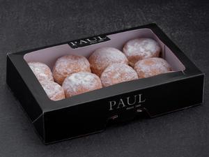 Doughnut Assorted (Raspberry/Apple Cinnamon/Chocolate Hazelnut - 12 Pieces) 3(flavours)x4pcs