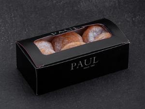 Mini Doughnut Assorted (Apple/Chocolate/Sugar - 6 Pieces) 3(flavours)x2pcs