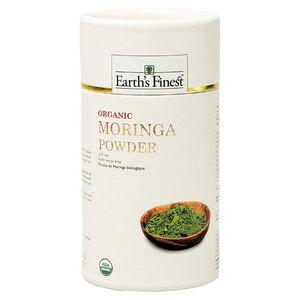 Earth's Finest Organic Moringa Powder 113g