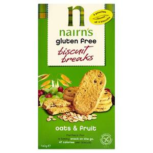 Nairns Biscuit Breaks Oats & Fruit 160g