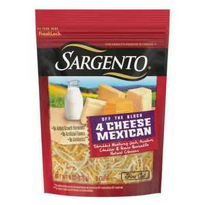 Sargento Shredded 4 Cheese Mexican Fine Cut 227g