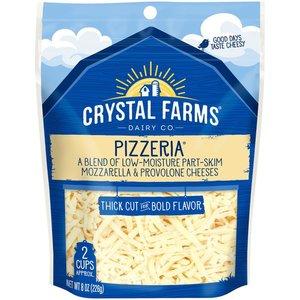 Crystal Farms Shredded Pizzeria 8oz