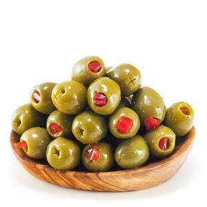 Green Olives Pepper 250g