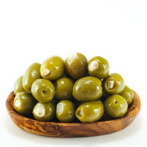 Green Olives With Garlic 250g