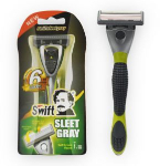 Swift System 6 Blades Razor Steel Gray 1pc