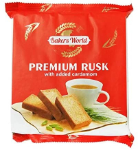Bakers World Elachi Rusk 100g