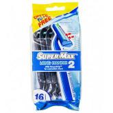 Supermax Disposable Light Handle Men Razor 20pc