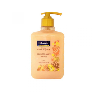 Hi Geen Creamy Hand And Body Wash Shea Butter Breeze 500ml