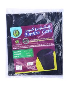 Natures Enviro Black Garbage Bag 2pc